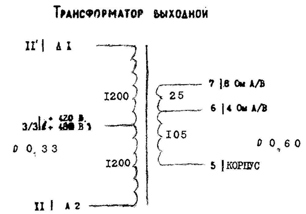 выходной трансформатор